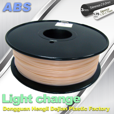 چین ABS Light Change Color Changing Filament Stable In Performance تامین کننده