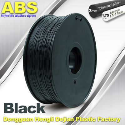 چین Good toughness ABS 3d Printer Filament materials for RepRap , Markerbot تامین کننده