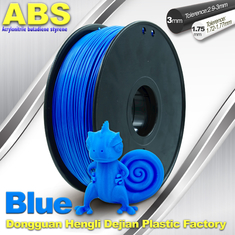 چین ABS Blue Fluorescent Filament  , 1.75mm / 3.0mm 3D Printer Filament 1kg / Spool تامین کننده