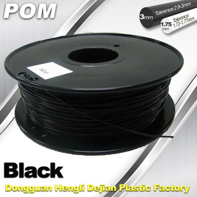 POM Makerbot 3D Printer Filament Materials 1.75mm / 3.0mm