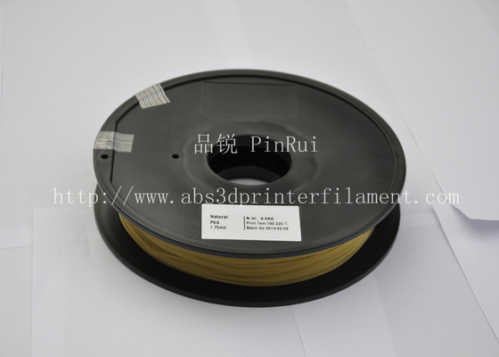Dissolvable PETG / Wood / PVA 3d Printer Filament  temperature 190°C  - 220°C